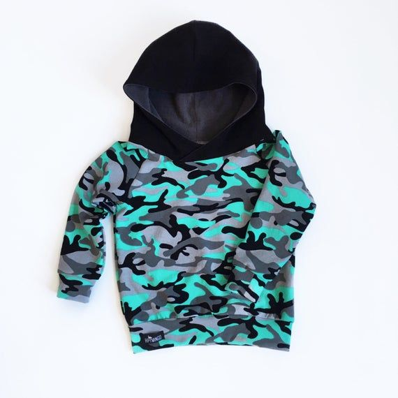 baby shower gift cool boy clothes baby hoodie camo baby gift toddler mint and gray camouflage hooded shirt baby camo hoodie