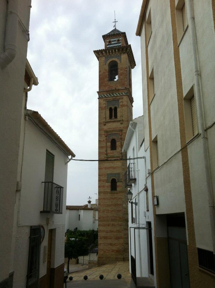 Iglesia del Carmen, réplica de la iglesia de Santa Ana en Granada, por el rey Alhamar #arjona #jaén