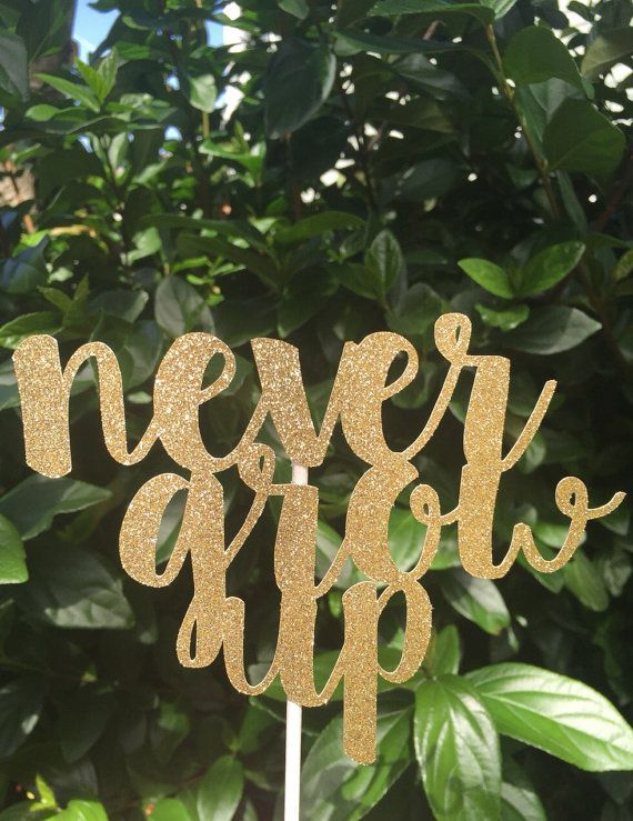 Never Grow Up // Baby Shower // Birthday // Cake by CraftandHoney