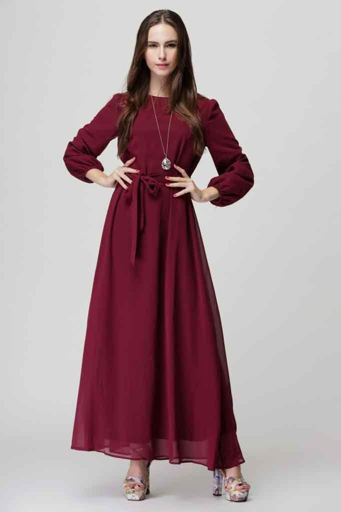 Rushed New Natural Full Fashion Muslim Dresses Female Islamic Garment Autumn Ethnic Costume Malay Clothing Long Dress