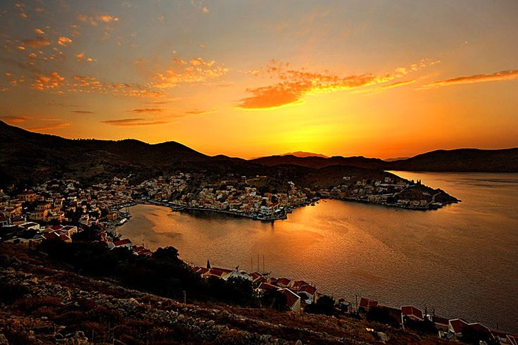 Symi sunset