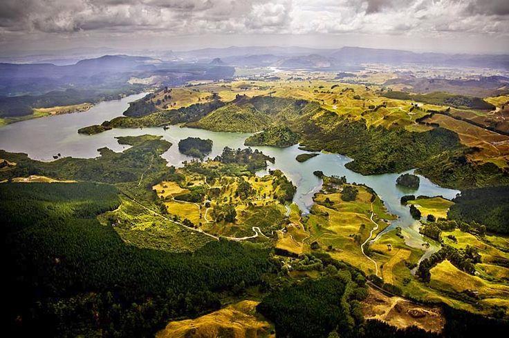Lake Ohakuri, on the Waikato River,  see more at New Zealand Journeys app for iPad www.gopix.co.nz