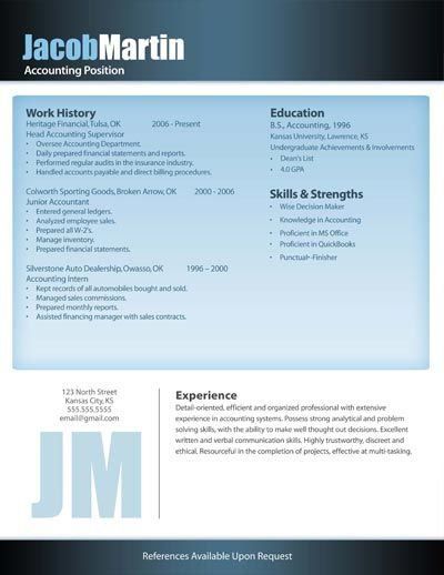11 best Free Downloadable Resume Templates images on Pinterest - how to create a resume on word 2010