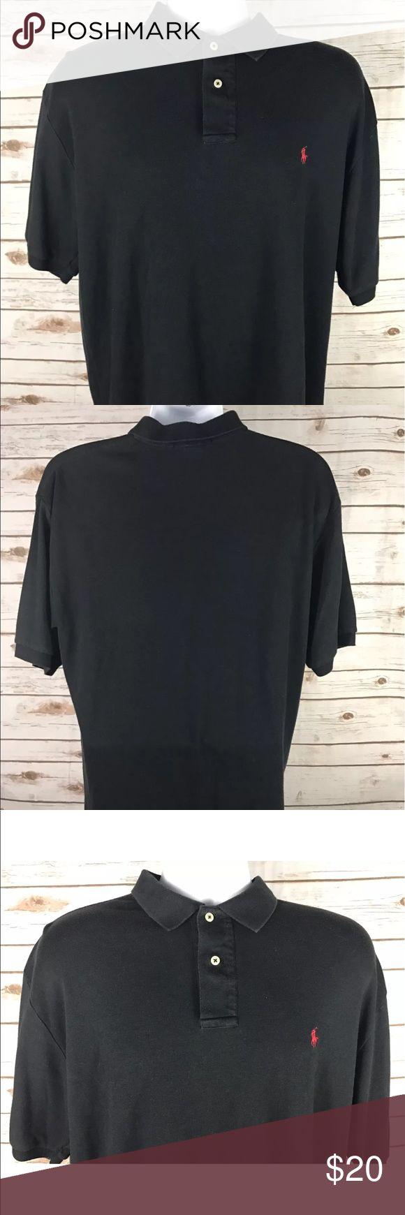 Men's Polo Ralph Lauren Black Polo shirt size M Men's Polo Ralph Lauren Black Polo shirt size M Polo by Ralph Lauren Shirts Polos