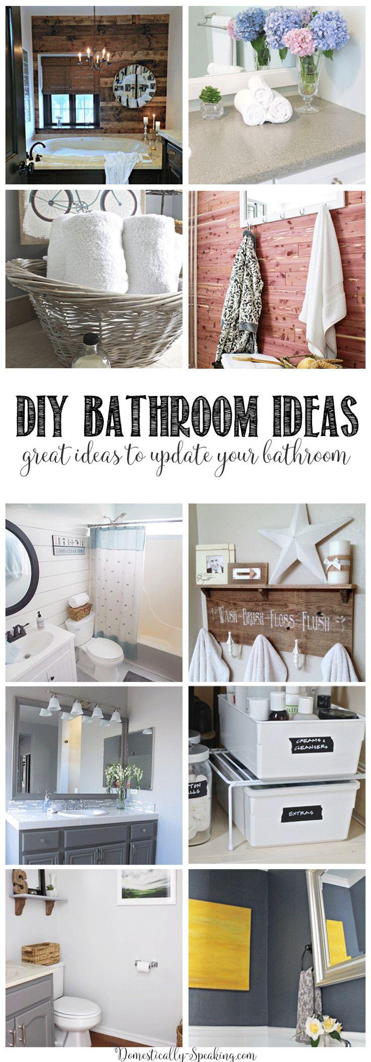 125 best diy bathroom ideas images on pinterest diy bathroom