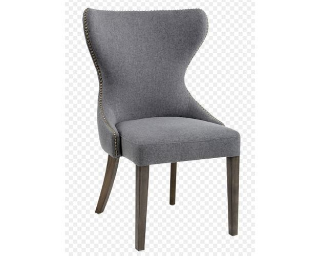 Ariana Dining Chair - Dark Grey Fabric