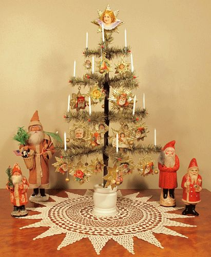 167 best images about dresden spun cotton reproduction - Traditional german christmas tree decorations ...