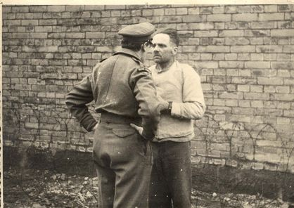 March 1946: Former Auschwitz commandant Rudolf Hoss is brought in front of an Allied interrogator