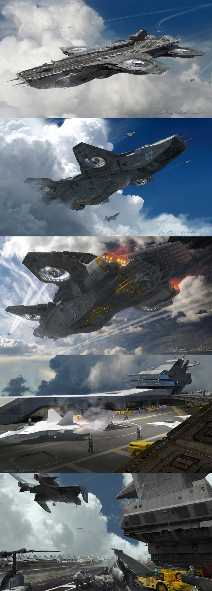 The Avengers Concept Designs | Nathan Schroeder.