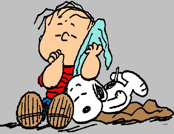 Linus And Blanket Clipart - Clipart Kid
