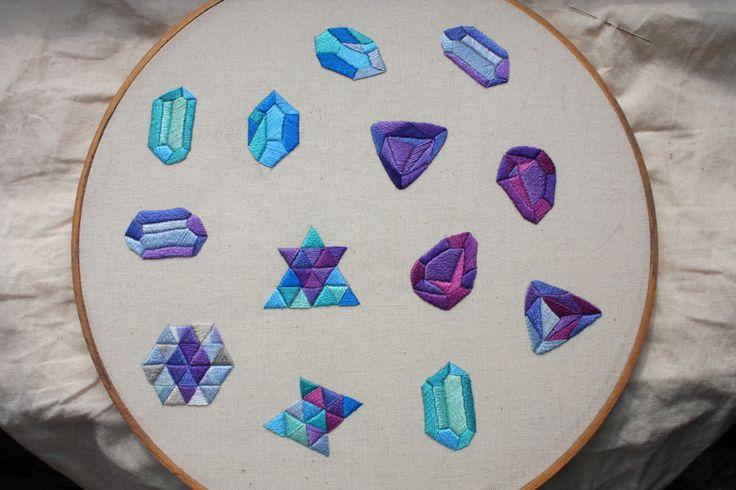 Best bordado en bastidor hoop embroidery images on