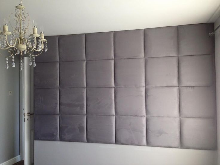 Grey Faux Suede Wall Tiles