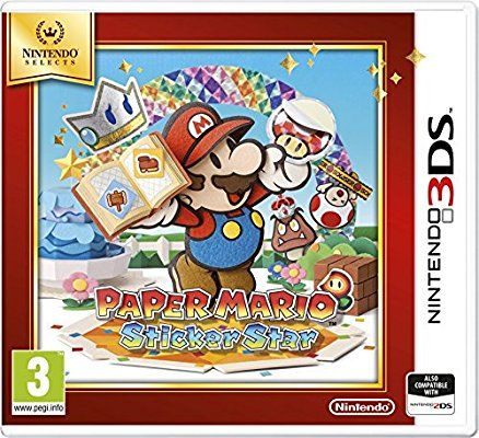 Nintendo Selects Paper Mario Sticker Star (Nintendo 3DS)