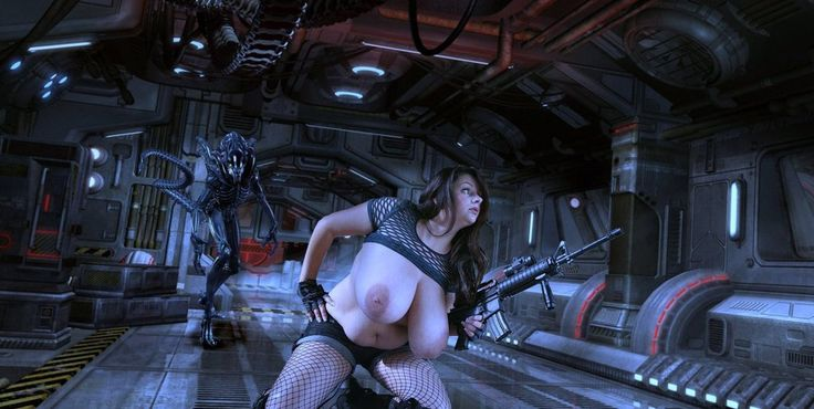 Nadine Jansen - Xenomorph Hunter 3