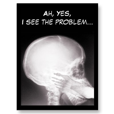 Foot in Mouth X-Ray Post Card SOLD 3-26-12 Shipping to Thetford, VT #xray #radiologist  #radiology
