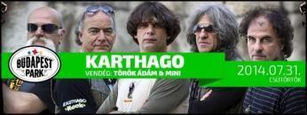 A Karthago zenekar megalakulását követően, egy év alatt, a '80-as évek egyik meghatározó, és legnépszerűbb magyarországi rockegyüttese lett.