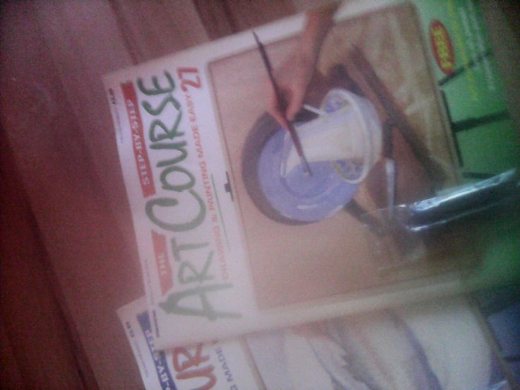 art course magazines 1 to 27 by miablisscurios on Etsy, £40.00