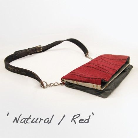Ecobella | 3-in-1 Clutch | Lydra Bags | Clutch purse from recycled materials