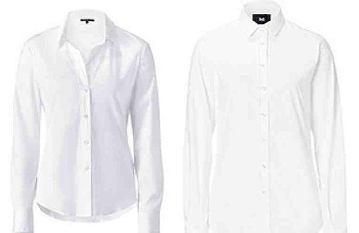Как отбелить белые рубашки и блузы из деликатных тканей и не испортить их