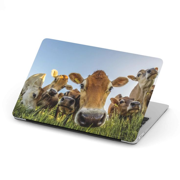 MacBook Case for Cow Lovers 07