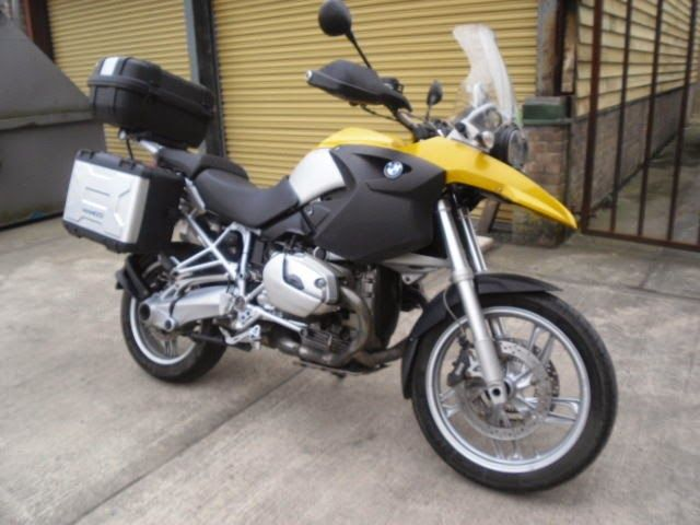 BMW GS For Sale UK: BMW R 1200 GS ABS FULL LUGGAGE AND FSH 2008