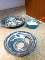 How to clean drip pans naturally. Quick and easy method.
