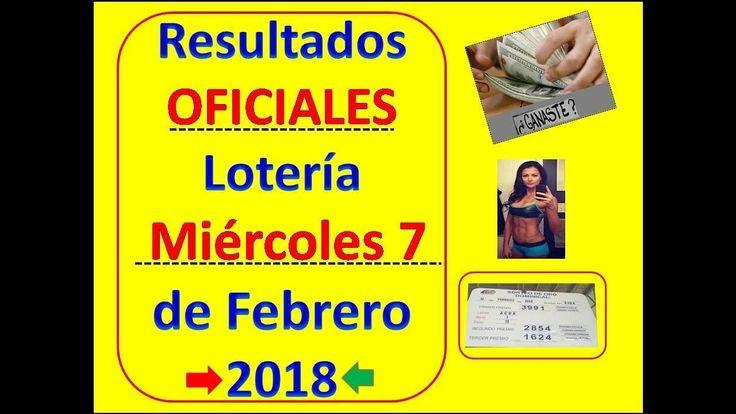 Resultados Sorteo Loteria Miercoles 7 Febrero 2018 Loteria Nacional Panama Numeros QueJugoMiercoles7