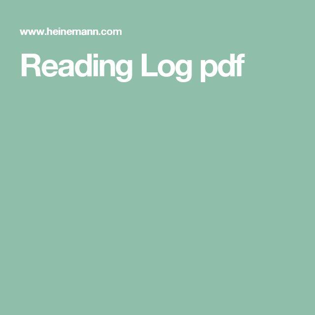 Reading Log pdf