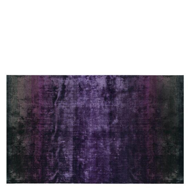 Designers Guild - Phipps Aubergine Matta. Så läcker, fin silkeslen och skimrande matta, den är jag rejält sugen på. :)