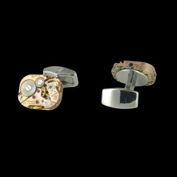 DIVERS ACCESSOIRES - Boutons de manchettes Horloger, cresus accessoires de luxe d'occasion, http://www.cresus.fr/accessoires/accessoire-occasion-divers_accessoires-boutons_de_manchettes_horloger,r46,ta5,p981.html