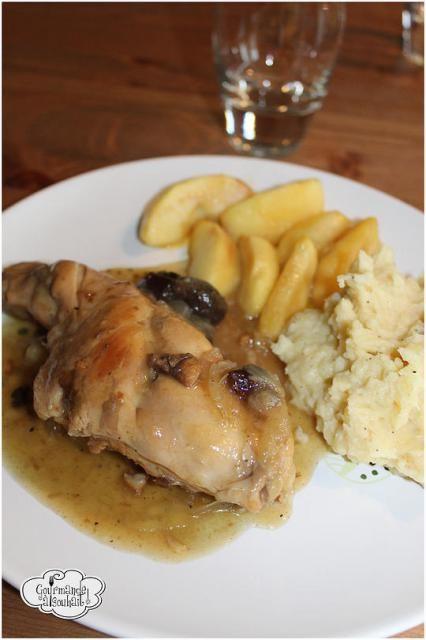 Lapin au cidre et aux pommes, Recette de Lapin au cidre et aux pommes par Gourmande à souhait - Food Reporter