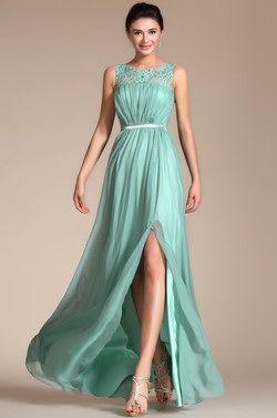 2014 Nuevo vestido de noche/fiesta sin mangas superior encaje A-line (C00145204) - EUR 49,99