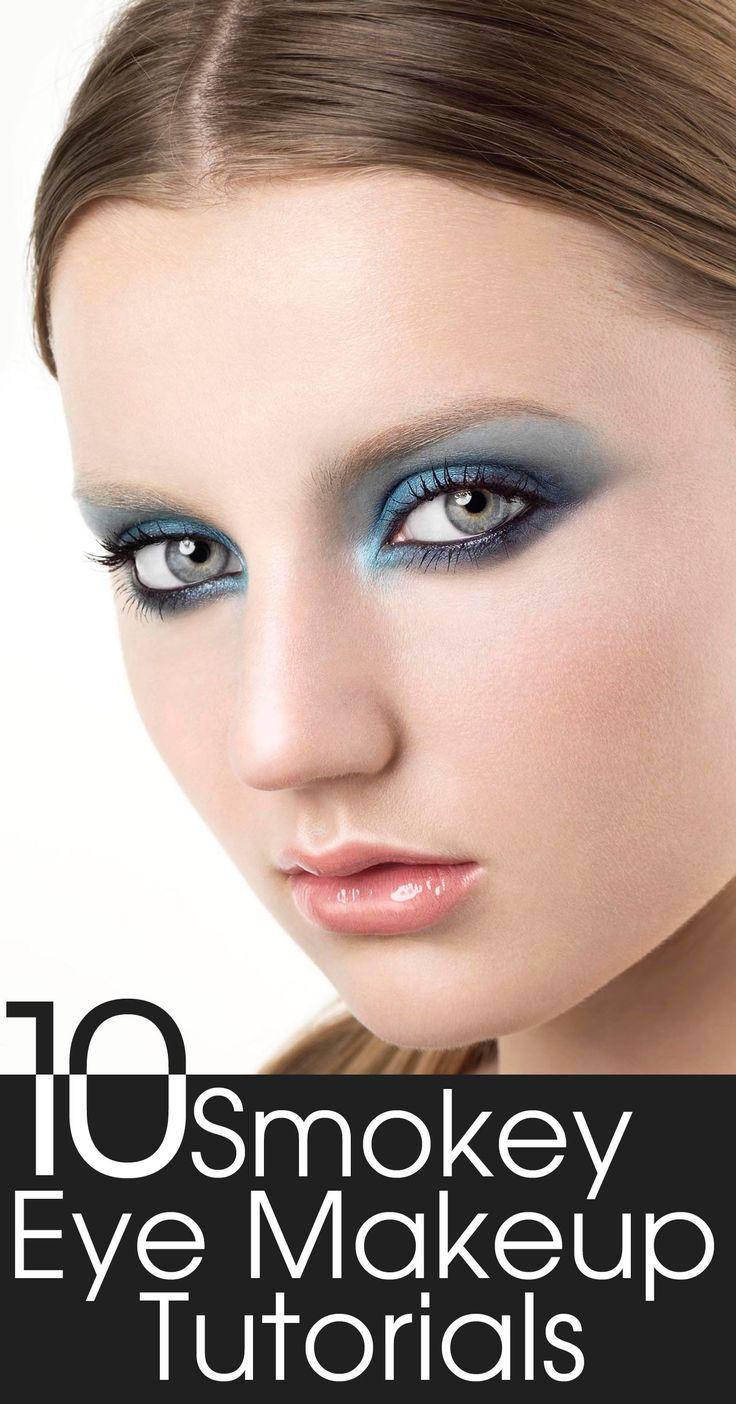 10 Smokey Eye Makeup Tutorials