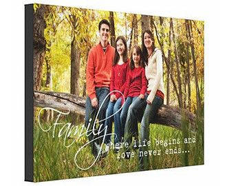 Personalized Photography Canvas Print 16x24