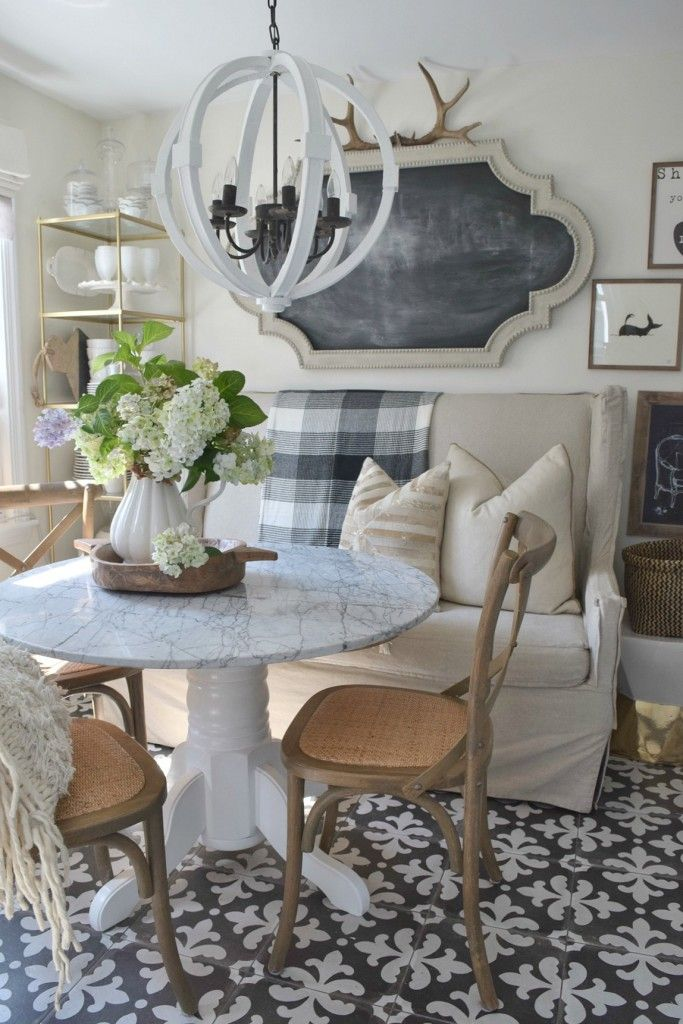 Eclectic Home Tour   Nesting With Grace. Dining Room TablesKitchen ...