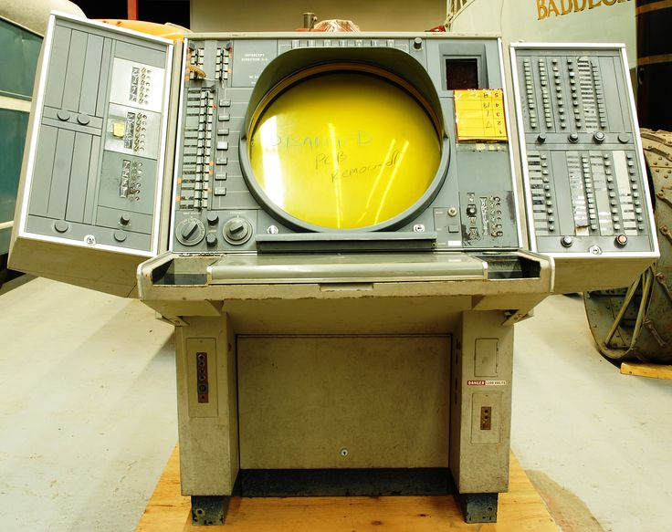 1960 IBM SAGE AN-FSQ-7 Computer console from 22nd NORAD Region, CFB North Bay Computerized Air Defense System