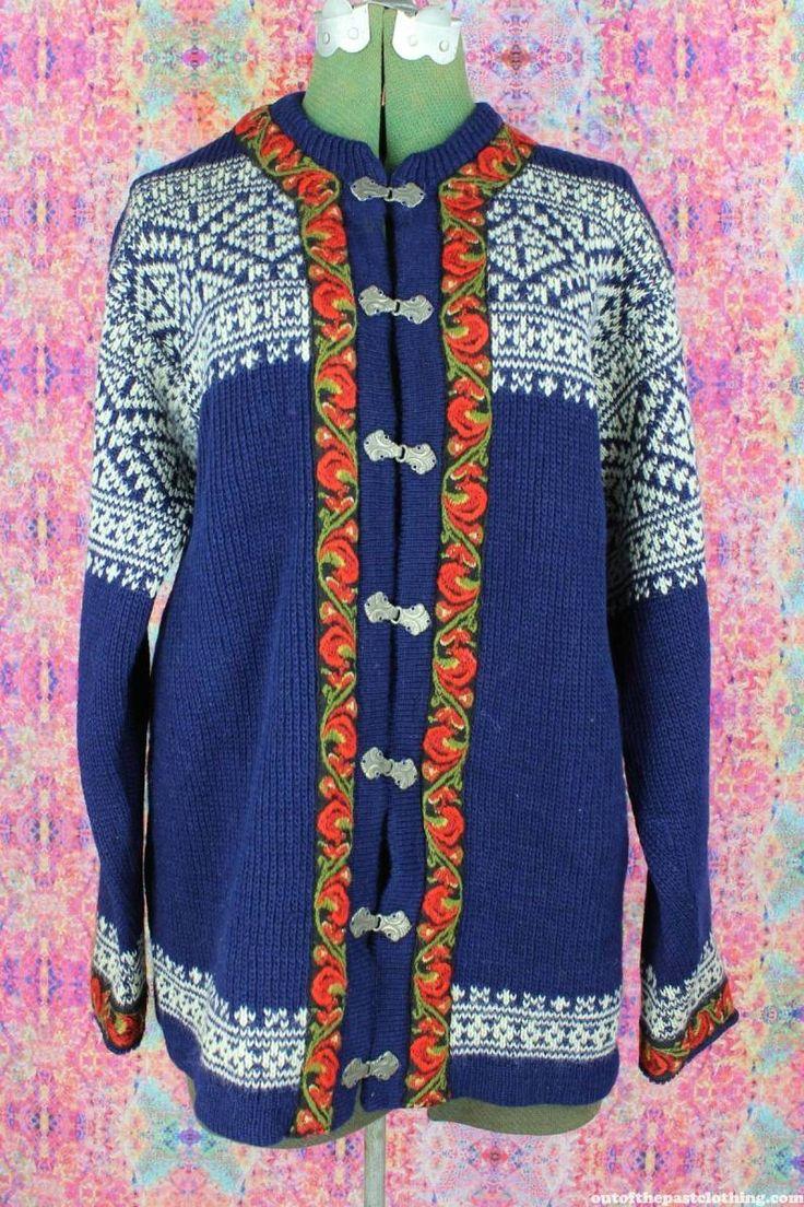 Nordstrikk Vintage Nordic Norwegian Sweater