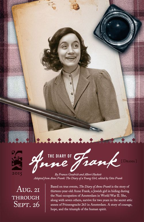 24 best honk jr images on pinterest musicals theater for Anne frank musical