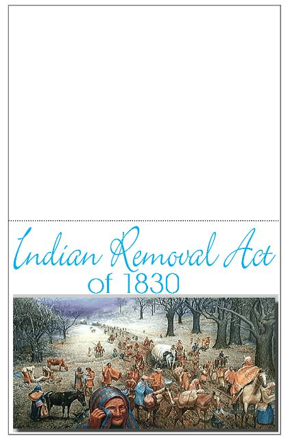 the trail of tears indian removal Dbq: indian removal act and the trail of tears bill woolwine winter haven senior high directions: the following question is based on the accompanying documents (1-9.