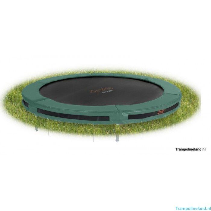 Pro-Line Inground trampoline 305 cm - Inbouw trampolines 305cm kopen - Trampolineland.nl