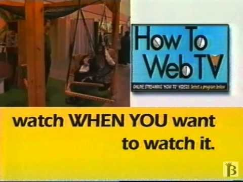 How To Web TV Commercial 1999