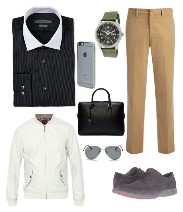 Junior Partner by chocofit on Polyvore featuring polyvore, John Varvatos, Joseph, Ted Baker, Cole Haan, Seiko, Ray-Ban, Burberry, Incase, men's fashion, menswear and clothing