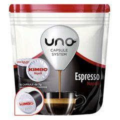 16 CAFFÈ UNO CAPSULE SYSTEM KIMBO ESPRESSO NAPOLI