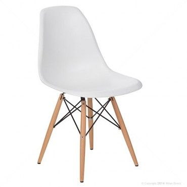 Eames Replica DSW Chair White Buy The Replica DSW Dining Chair Online M