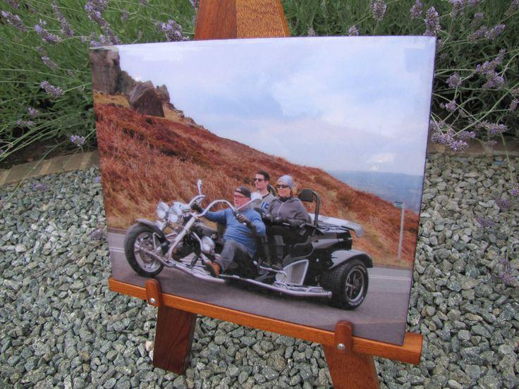 A fabulous Boom trike enjoying Ilkley Moor