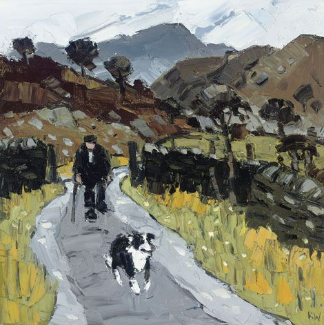 Photograph of Farmer, Blaen Nantmor by Sir Kyffin Williams
