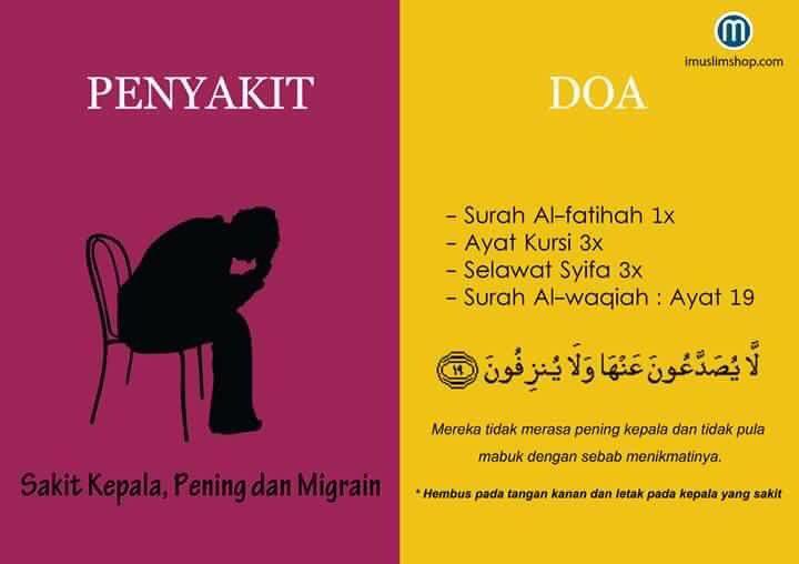 Doa sakit kepala