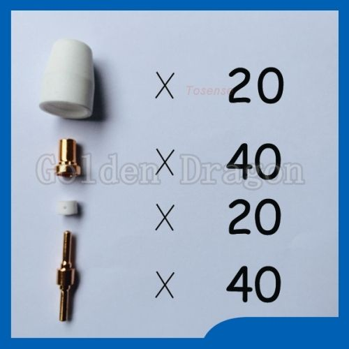 37.82$  Watch here  - Happy shopping consumibles cutter plasma Welding Torch supplies KIT Feel good of Cut40 50D CT312