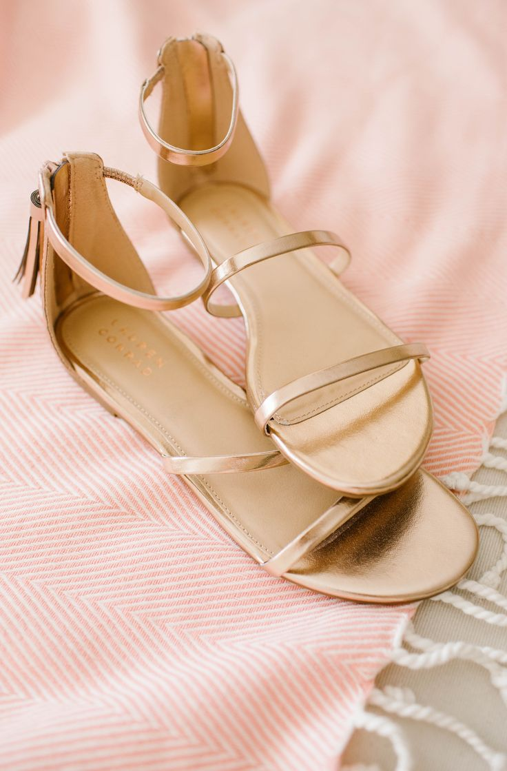 LC Lauren Conrad Shimmer Sandals | Available at Kohl's