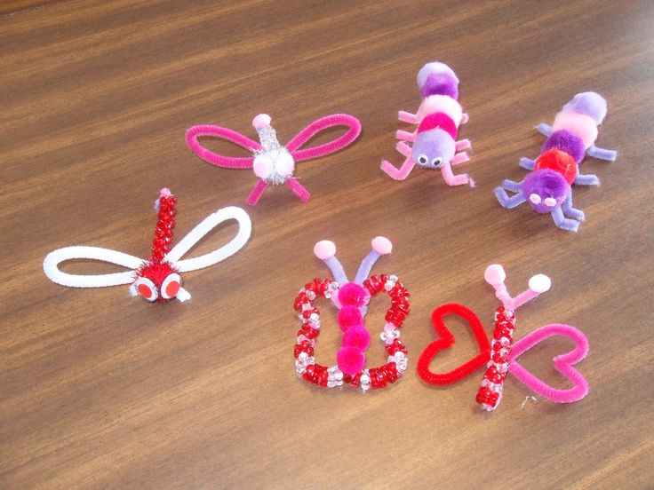 Easy Pipe Cleaner Crafts | Simple Joy Crafting: Pipe Cleaner Bugs!